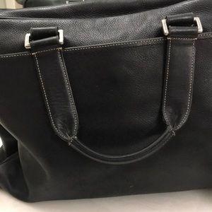 🌲🎁Coach Genuine Leather Messenger Computer Bag
